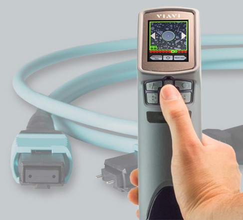 """All-in-one"" handheld inspection and analysis solution for multifiber connectors such as MPO."