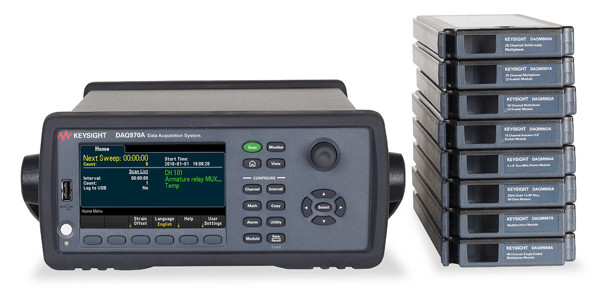 Keysight представи нов data acquisition DMM, модел DAQ970A.